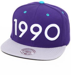 Mitchell & Ness 1990 'grape' Snapback Hat (Limited Edition)