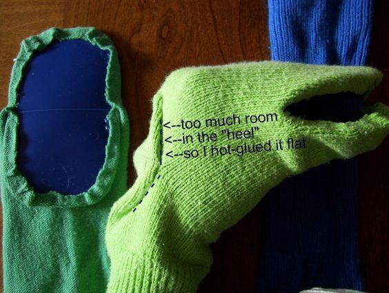 Sock puppets for Jim Henson week