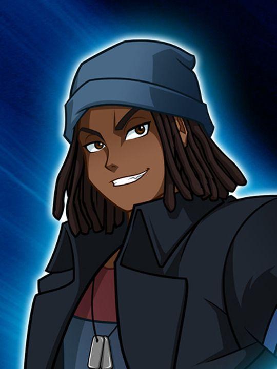 Dax From Monsuno World Master Black Cartoon Characters Black Anime Characters Black Cartoon