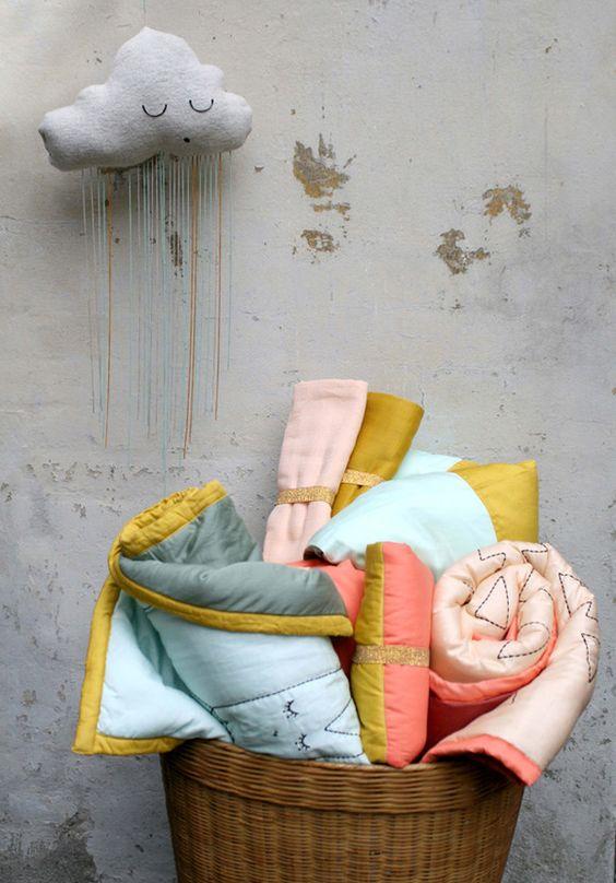 textiles para niños #decoraciónparaniños #dormitorioinfantil #textilesparniños