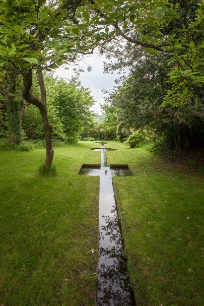 Square And Hexagonal Pools Rock Garden Design Garden Stream Water Features