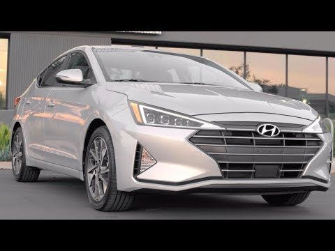 1 2020 Hyundai Elantra Limited Interior Exterior Driving Youtube Interior