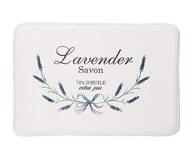 Alfombra de ducha en fibra sintética Lavender - 58x40 cm