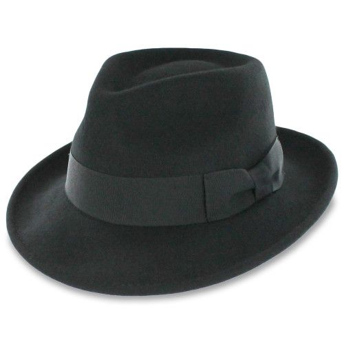 Belfry Gangster Crushable Wool Fedora Spectator Shoes Hats In