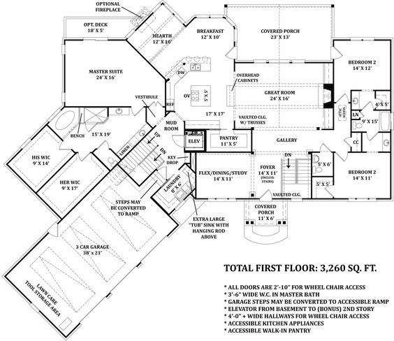 First floor plan image of mayberry place house plan love for Mayberry house plan