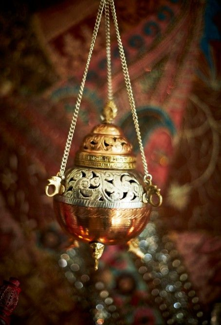 Snippet Copper Tips The Nailasaurus: Ornate Copper Hanging Incense Burner! Hand Carved And