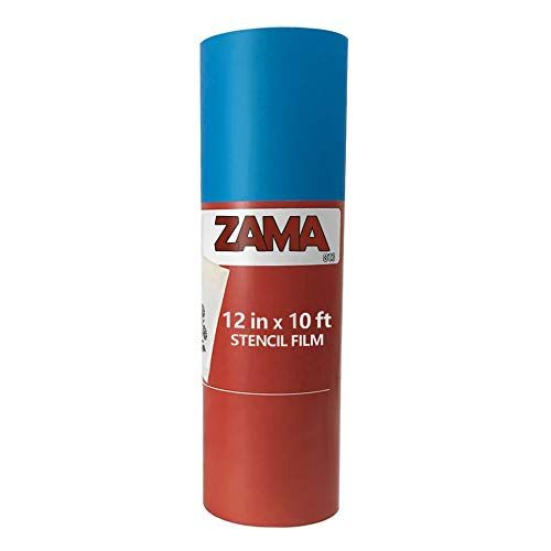 Zama Stencil Film Kit 10ft Stencil Film Roll 12 X 10ft For Diy Craftingscrapbooking Easy To Use Cricut Silhou Silhouette Cameo Vinyl Stencil Material Stencils
