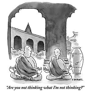 mindfulness / meditation humor: