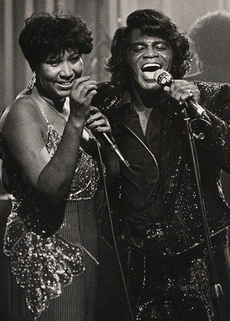 The Queen and the Godfather of Soul