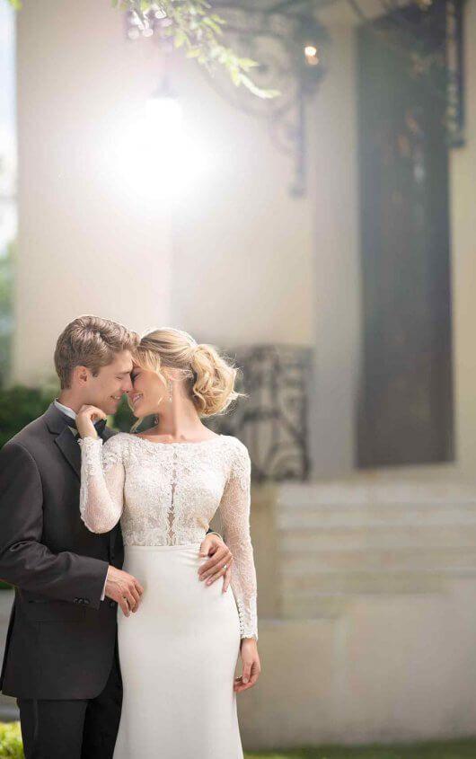 Long Sleeved Wedding Dress With Train Stella York Wedding