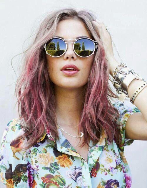 Moda y Estilo: La moda del cabello multicolor