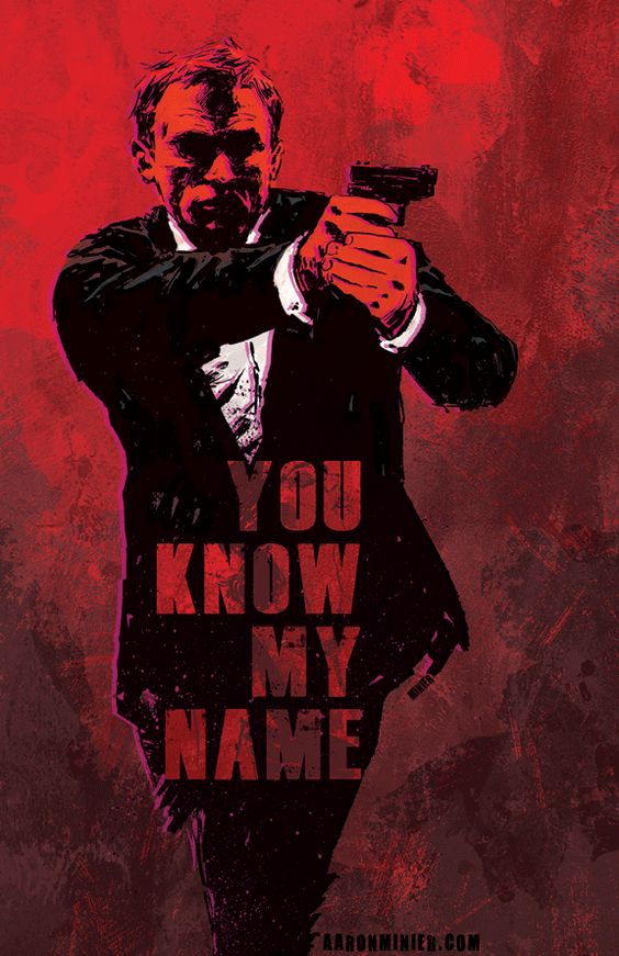 James Bond 007 Artwork