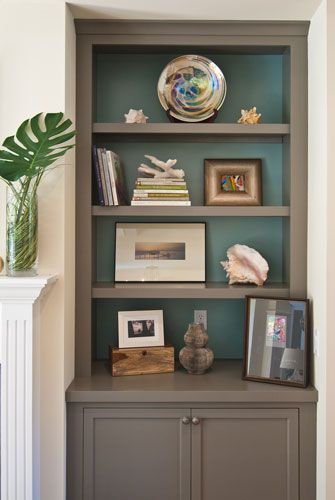 pinterest painted bookshelves likewise - photo #10