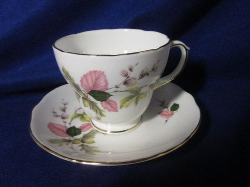 One of my favorite autumn Duchess cup and saucers.  Love the pink!
