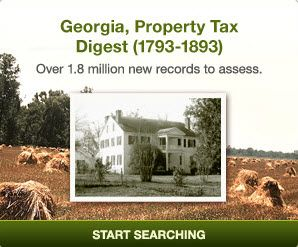 for census substitutes? Check out these records for 135 Georgia ...