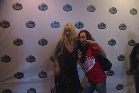 Tiffinni appears at many celeb meet and greets w her ook and cd releases