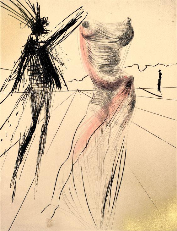 Salvador Dali, Faust: