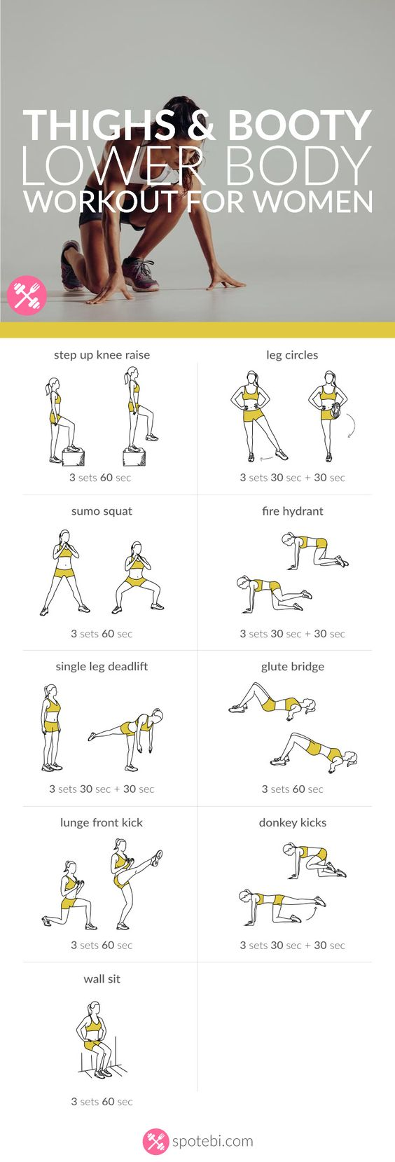 Image Result For Glutes Workouta