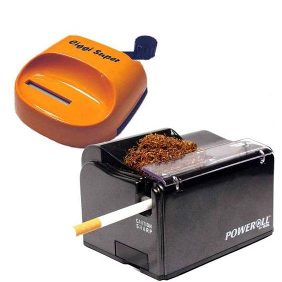 PowerRoll + Ciggi Super Stopfmaschine - LUXFUX - elektrische Stopfmaschinen