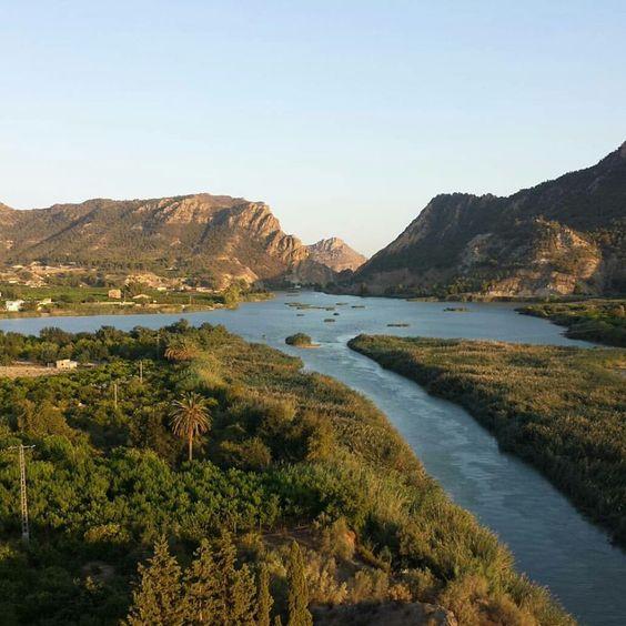 valle del Segura. Murcia. Spain