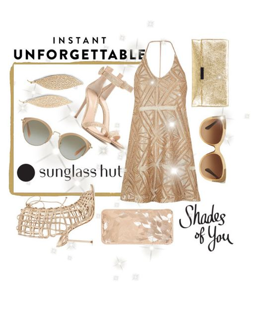 """""""Shades of You: Sunglass Hut Contest Entry"""" by numeangeleyes ❤ liked on Polyvore featuring Sophia Webster, Gianvito Rossi, Loeffler Randall, Express, Miu Miu, Coach, River Island, unforgettable and shadesofyou"""