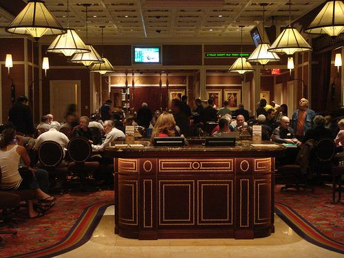 Poker Room at The Wynn in Las Vegas | Places I\'d Like to Go ...