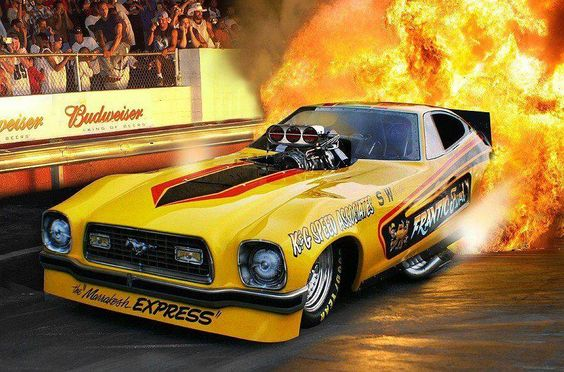 An awesome shot of the Frantic Ford AA/FC! | Drag Racing ...