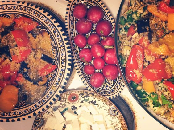 Bulgur and veggies
