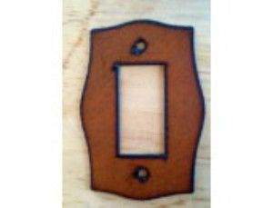 Rustic Single Rocker Lightswitch Cover