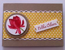 Gratulations-Doppel Karte. Ostern. Stampin Up