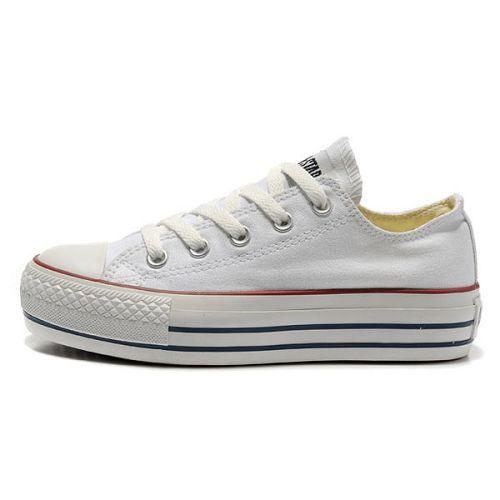 zapatillas converse plataforma blancas