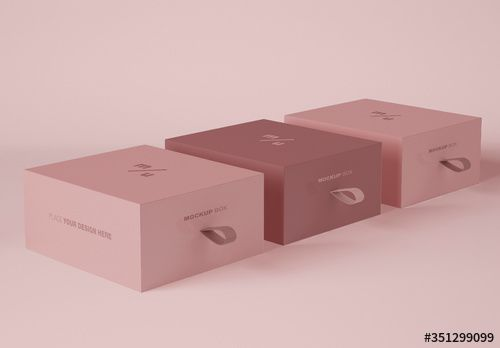 Download 3 Box Packaging Mockup Luxury Box Packaging Packaging Mockup Luxury Packaging Design