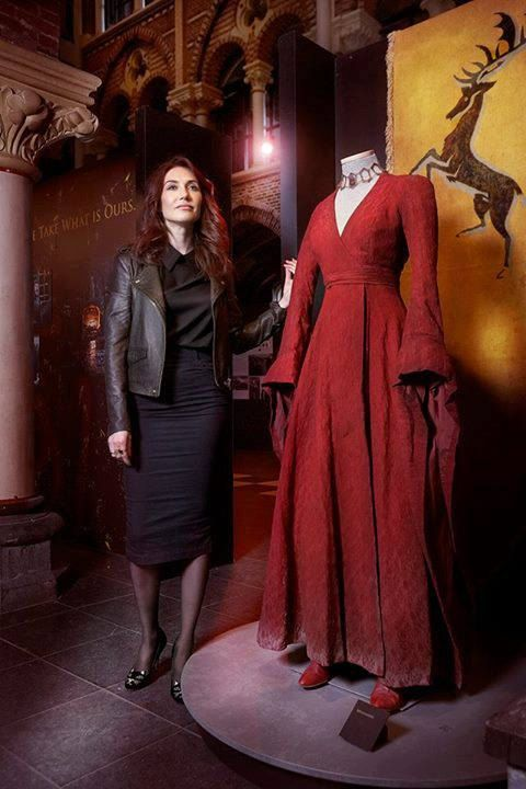 Melisandre basic costume by Grimildesmirror on Etsy