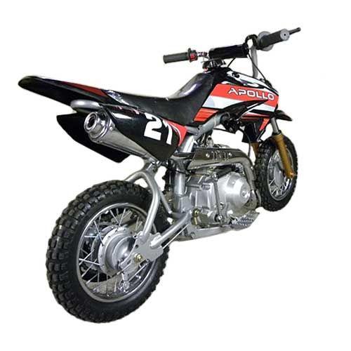 Apollo 70cc Youth Dirt Bike Dirtbike Motocross Kids Youth