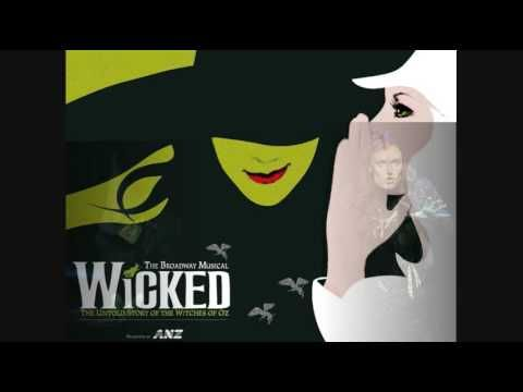No Good Deed Goes Unpunished - Idina Menzel - play Wicked.