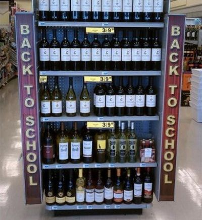 back to school supplies   I think they missed up some heheheh
