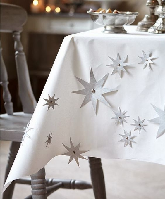 White paper, Tablecloths and Stars