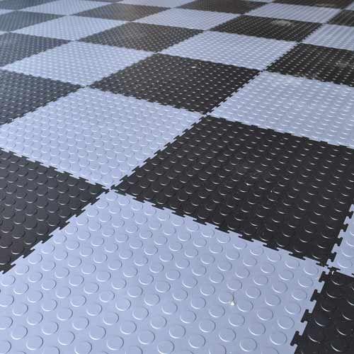 Garage Floor Tile Pvc Coin 20x20 Garage Floor Garage Floor