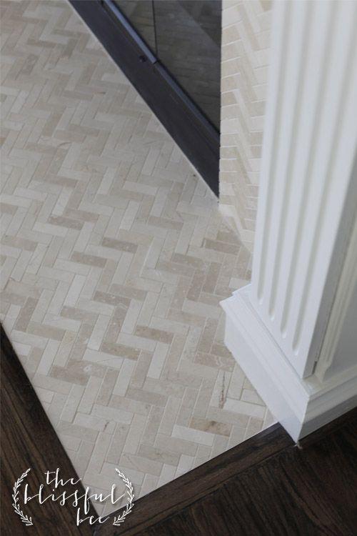Transition From Tile To Wood Maalie Villa Pinterest