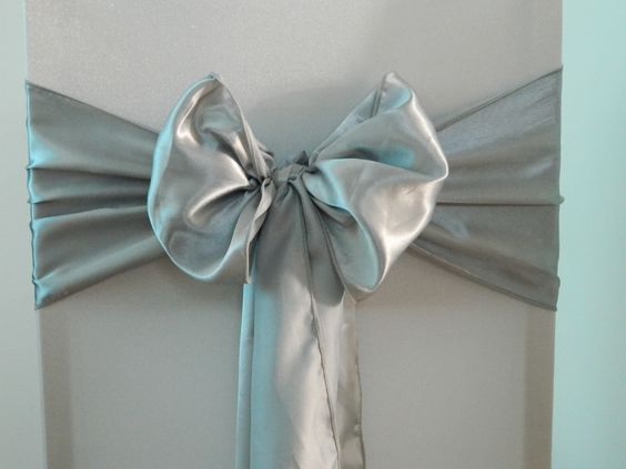 Silver Satin  www.blueorchid-events.com