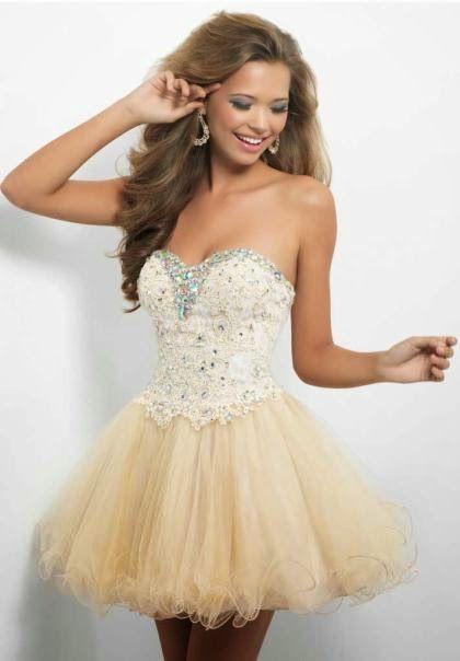 Lindos vestidos de fiesta de Quince Años para adolescentes