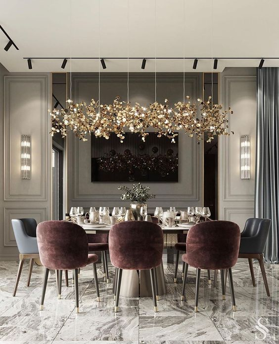 Luxurious Dining Room Dining Room Design Modern Luxury Dining Room Dining Room Interiors