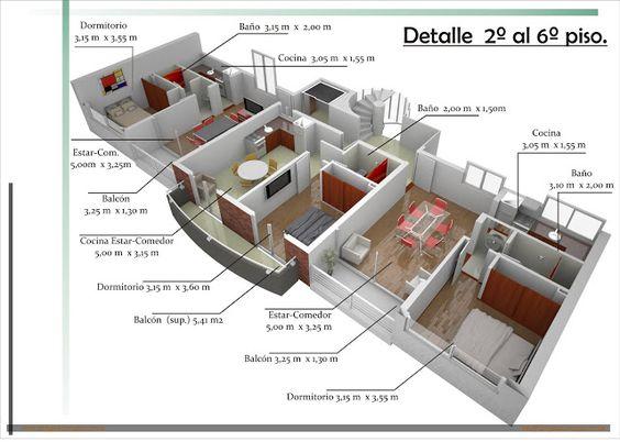 Que debe tener su vivienda planos de casas gratis y for Planos arquitectonicos vivienda