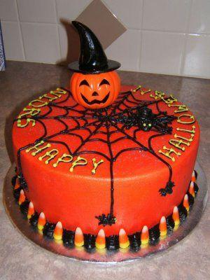 Happy Halloween cake!