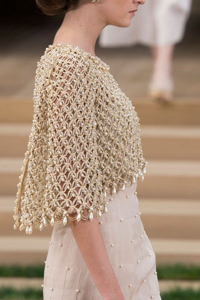 Don't Miss These Beautiful Couture Details | Chanel: