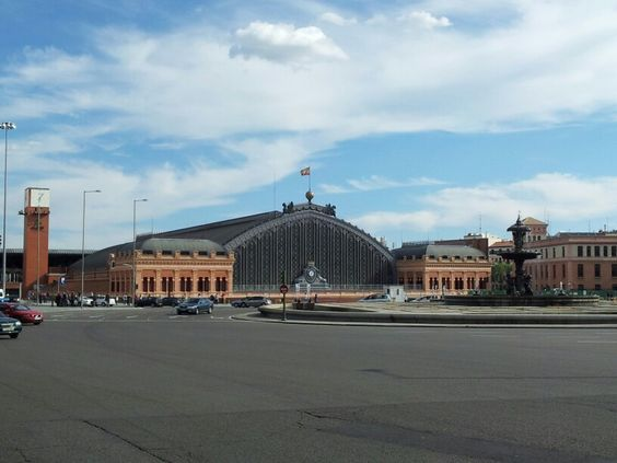 Estación de Atocha, Madrid, Spain.
