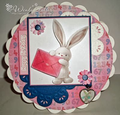 Bebunni CD ROM 1 - Decoupage 5, paper Design Set 10.  Ephiphany design 2.  Flower Frame Die'sire Die.