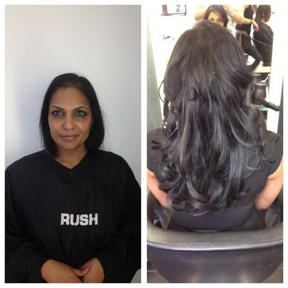 Racoon International hair extensions by Josh Smith