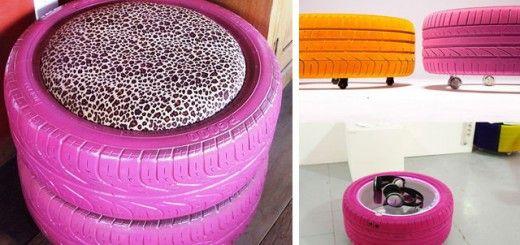 Die besten 25+ Mesas con llantas Ideen auf Pinterest Muebles con - couchtisch aus autoreifen tavomatico
