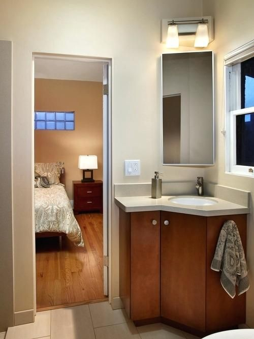 When To Use Corner Bathroom Sinks Decor Banyo Fikirleri Kucuk